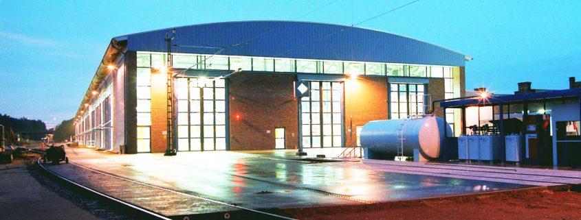 Neubau ICE-Instandhaltungswerk, Krefeld 1