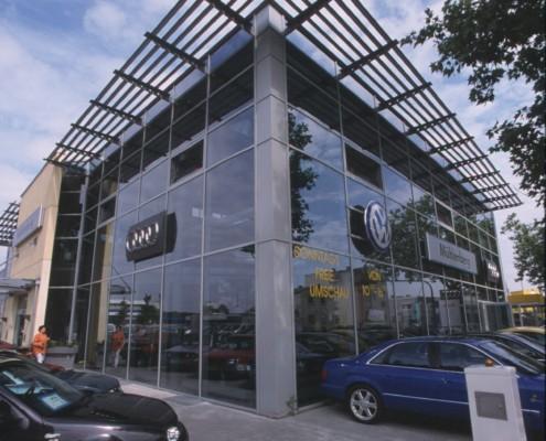 Neubau Autohaus Mühlenberg 1