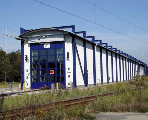 Neubau ICE-Waschanlage, Hamburg-Langenfelde 22