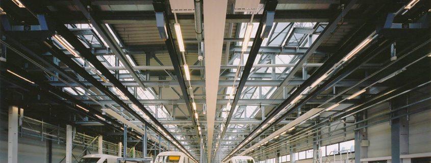 Neubau DB-Triebzuganlage, Berlin 1