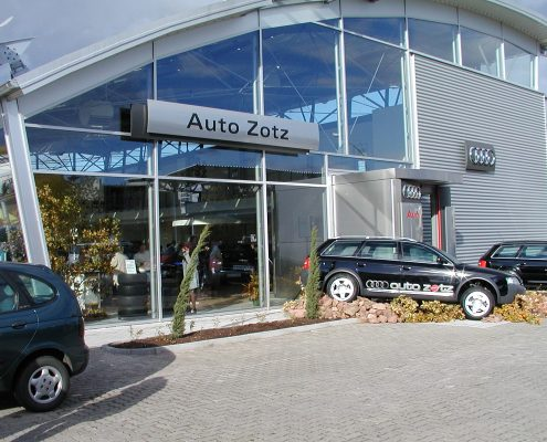 Neubau Autohaus Zotz 2