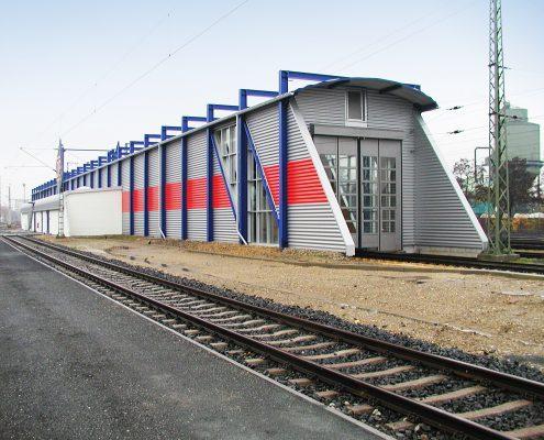 Neubau ICE- und Ganzzugbehandlungsanlage, Frankfurt-Höchst 3