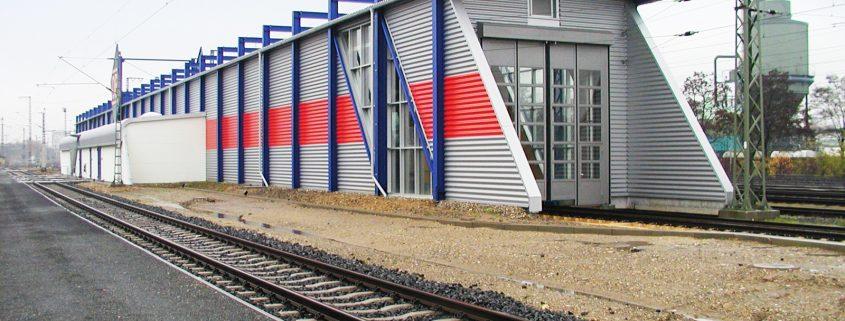 Neubau ICE- und Ganzzugbehandlungsanlage, Frankfurt-Höchst 1