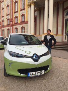 #zeozweifreiunterwegs: erstes Elektroauto für IBE 6