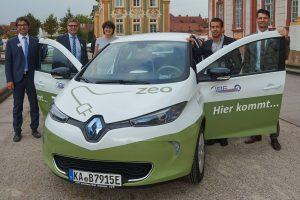 #zeozweifreiunterwegs: erstes Elektroauto für IBE 1