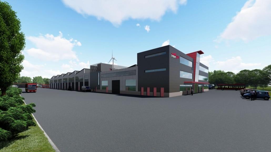 Neuer Auftrag: Neubau eines Werkstattgebäudes für die AVG 2