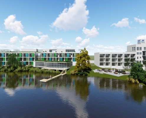 Neubau Seehotel, Forst 1