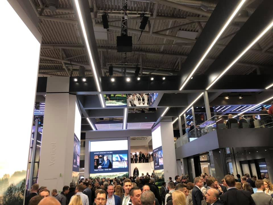 Bau 2019, München 2