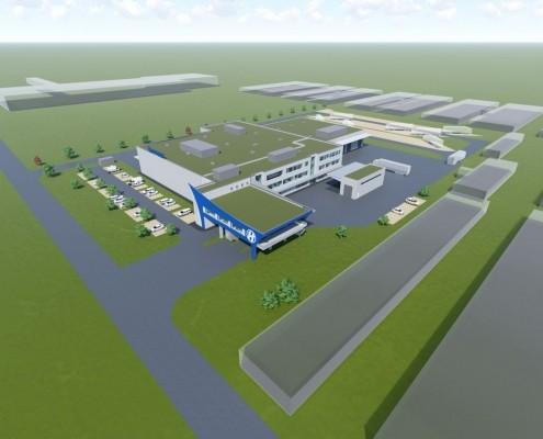 Neubau Logistikzentrum, Erfurt 1
