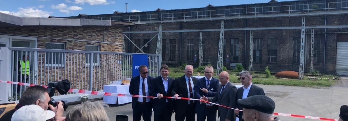 Eine Fabrik zieht um: Die Pfaudler GmbH ist von Schwetzingen nach Waghäusel umgezogen 1