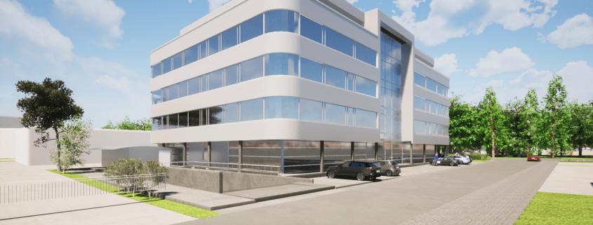 Neubau Verwaltungsgebäude, Forst 1