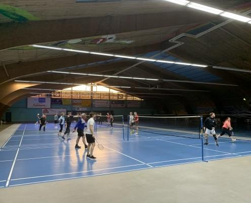 Badminton-Turnier mit unseren Elektro- und HLS-Planern Heimann Ingenieure (Berlin) aus der Niederlassung in Lorsch 4