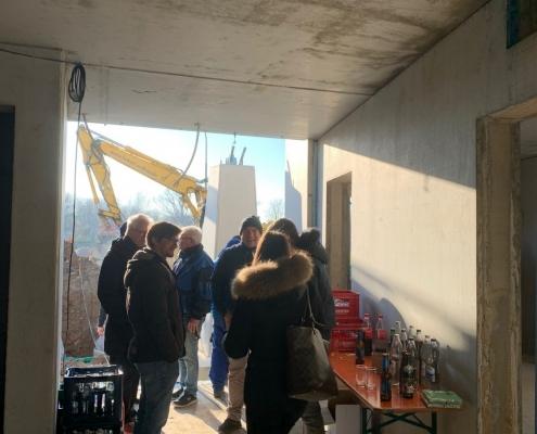 Neubau Albgaustadion: Handwerker-Richtfest am 04.12.19 3