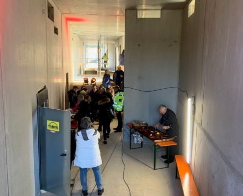 Neubau Albgaustadion: Handwerker-Richtfest am 04.12.19 1