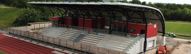 Hans-Bretz-Stadion Ettlingen: Der Neubau ist im finish 1