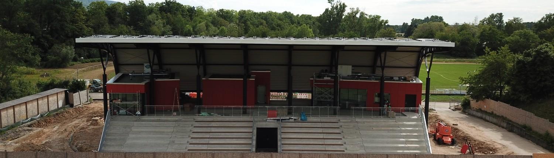 Hans-Bretz-Stadion Ettlingen: Der Neubau ist im finish 2