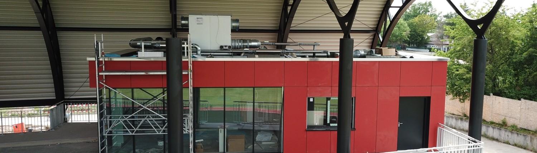 Hans-Bretz-Stadion Ettlingen: Der Neubau ist im finish 3