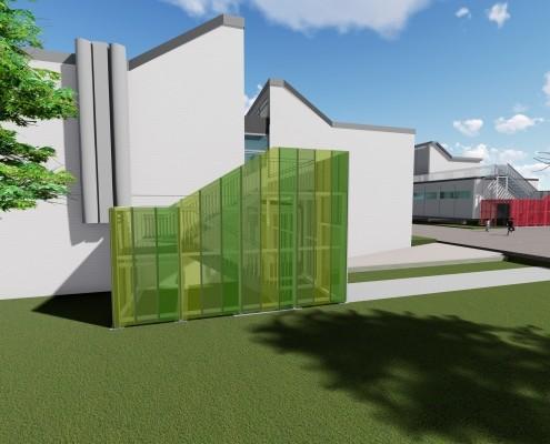 Brandschutzsanierung Friedrich-Magnus-Schule, Friedrichstal 1